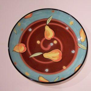 Hummingbird Art Bowl by Natalie Warrens